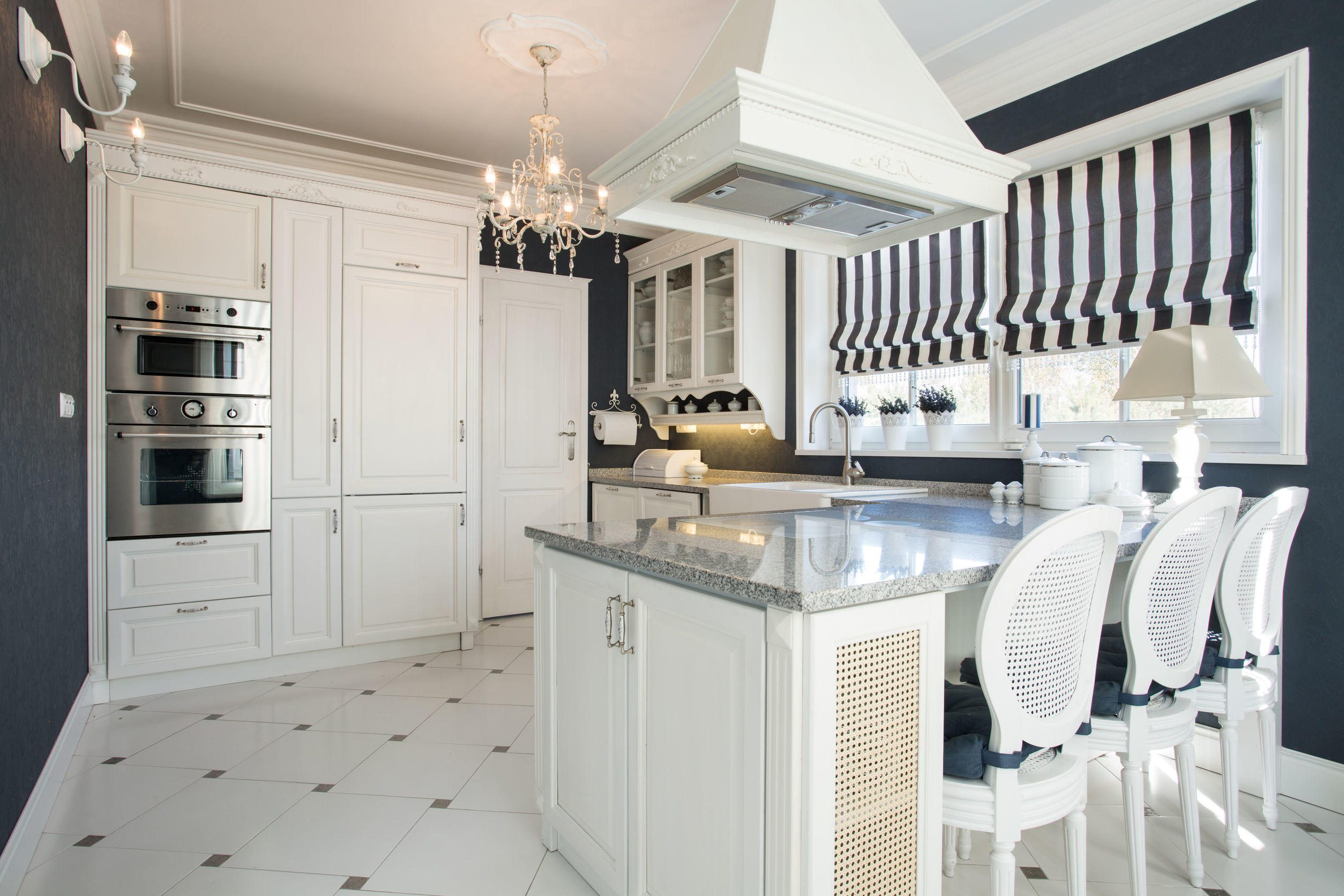 Beauty White Kitchen